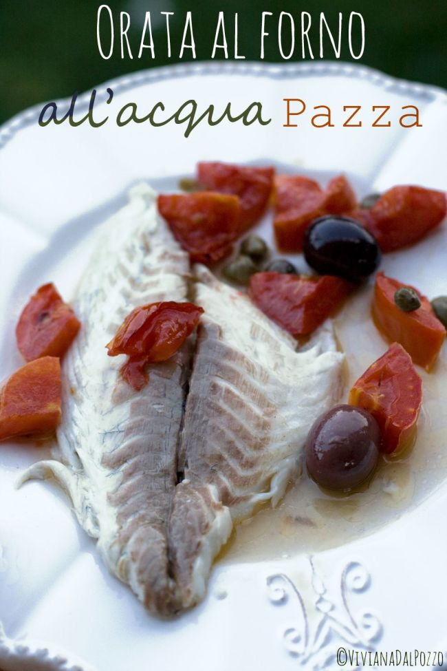 filetto di orata acqua pazza