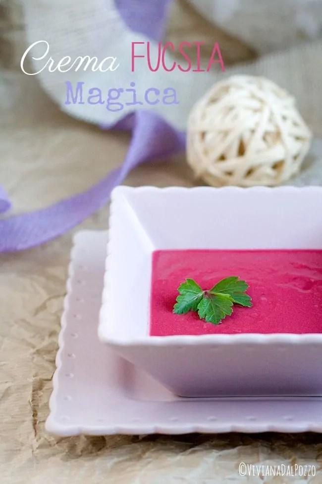 Creme e zuppe colorate per bambini