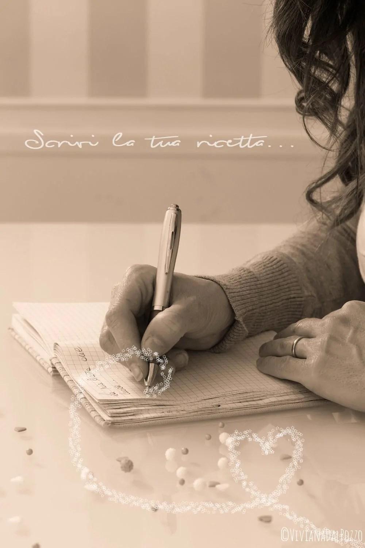 Scrivi la tua ricetta del Cuore…