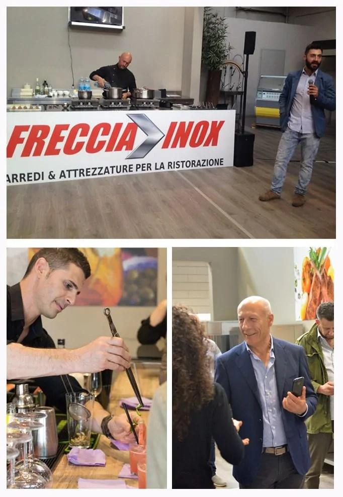 Inaugurazione FrecciaInox e tutto quello che una Blogger (non) dovrebbe fare ad un evento