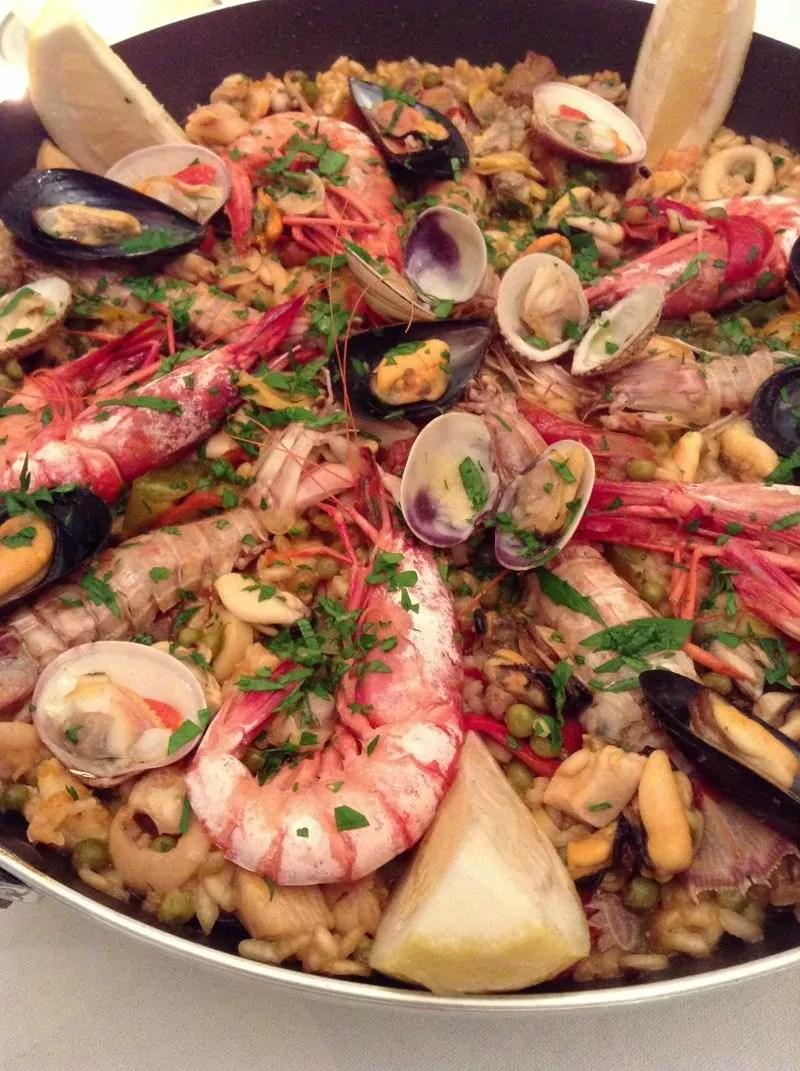 La ricetta del cuore di Manuela: La Paella!