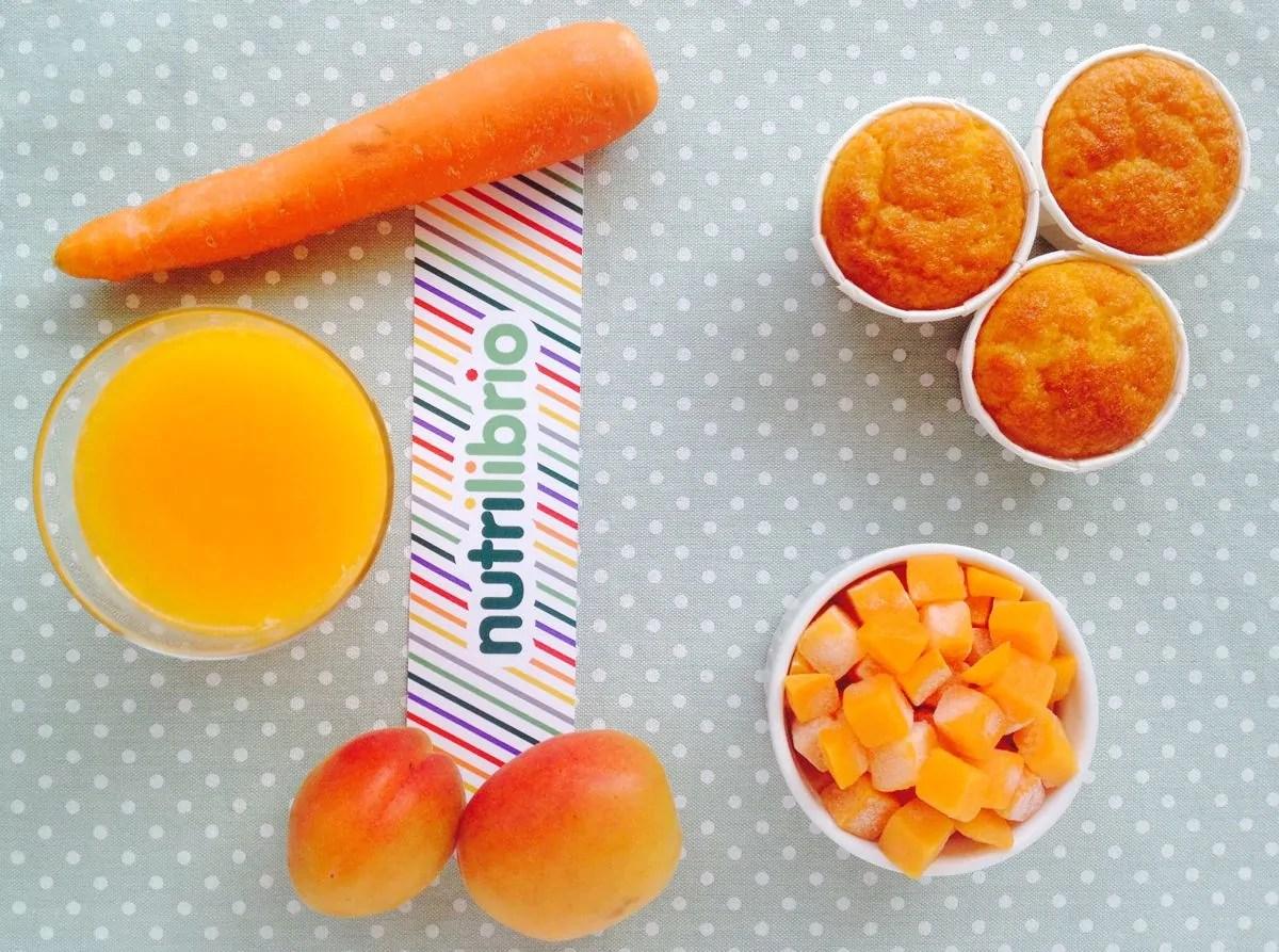 camilla muffin con carote e zucca