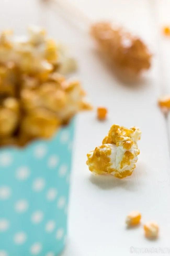 un popcorn caramellato