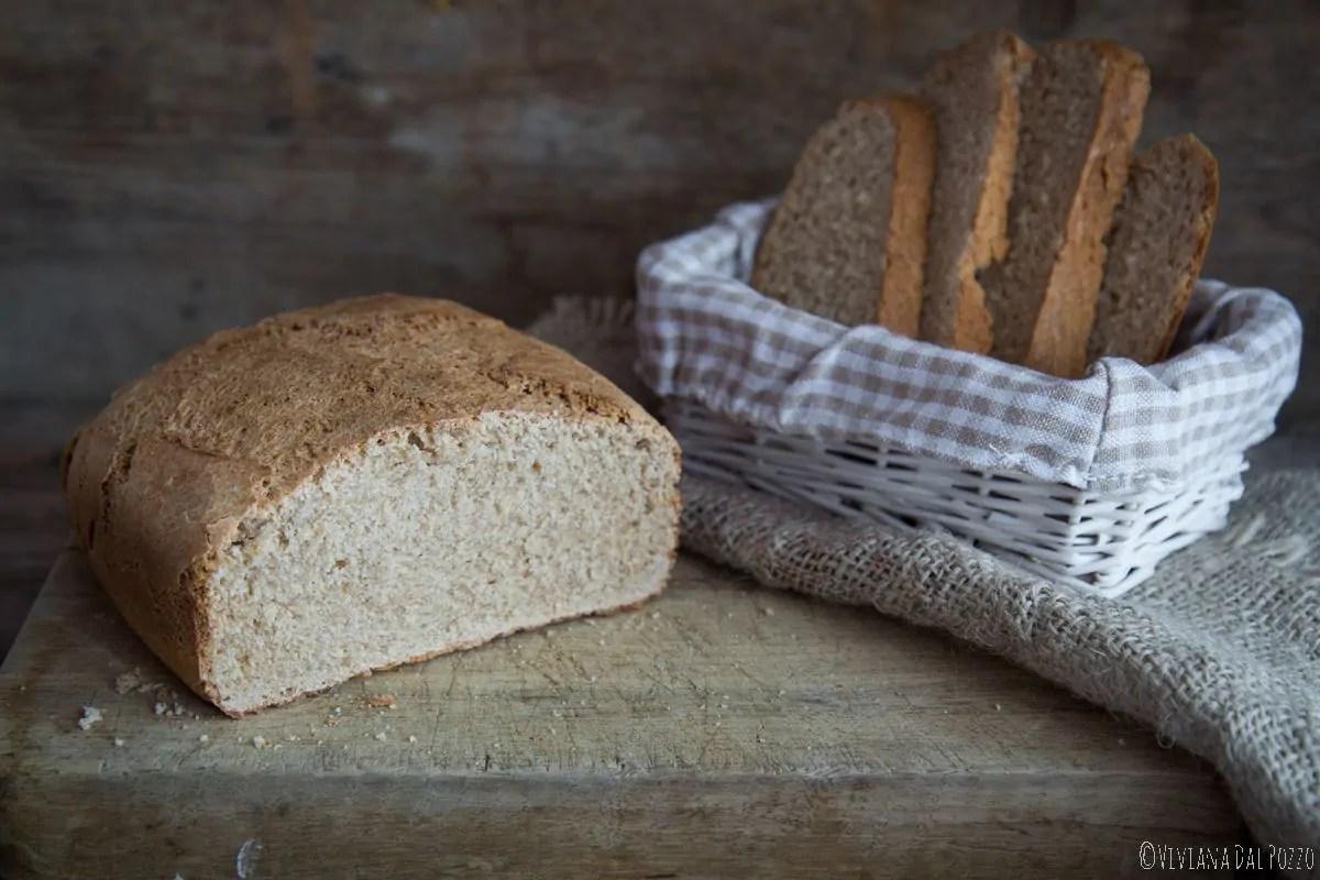 Pane semi integrale al Farro