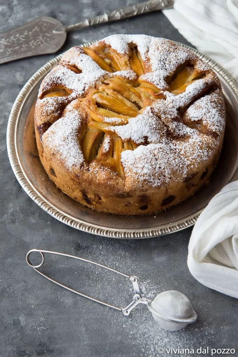 torta con cachi mela
