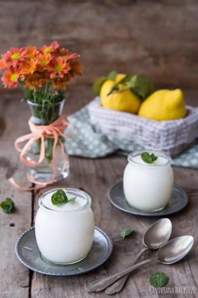 sorbetto al limone senza latticini