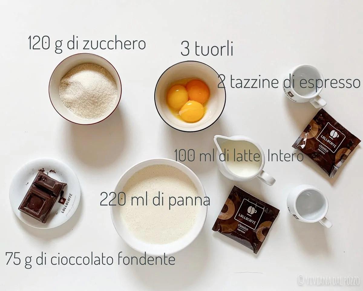 ingredienti gelato al mocaccino