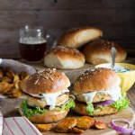 fish burger con buns
