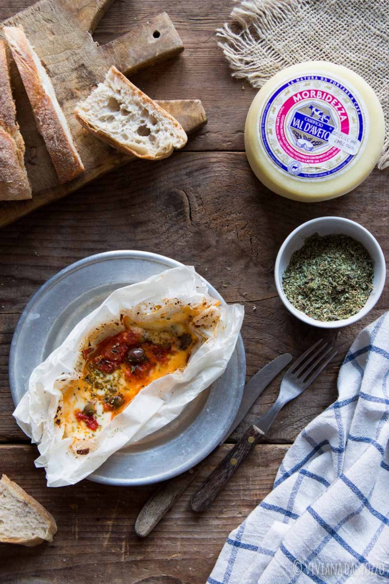 formaggio al cartoccio