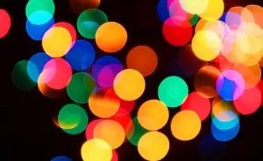luci sfocate 3 - Copertina