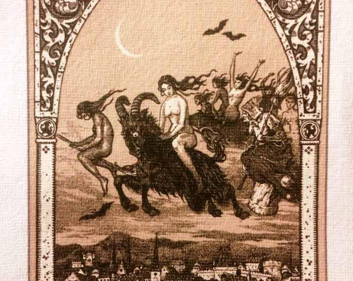 Janare e Janas: le sciamane nostrane