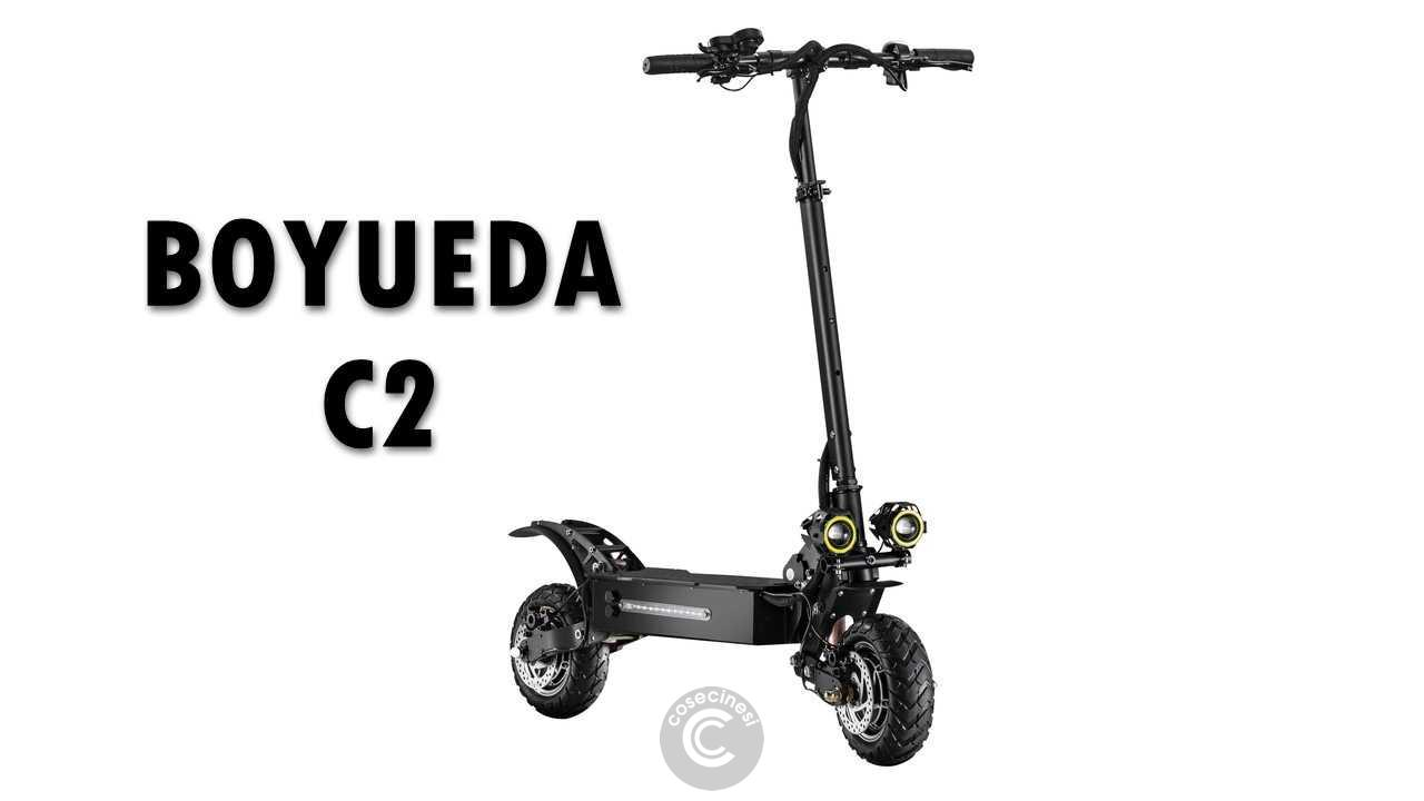 Codice sconto coupon  BOYUEDA C2 Folding Electric Scooter