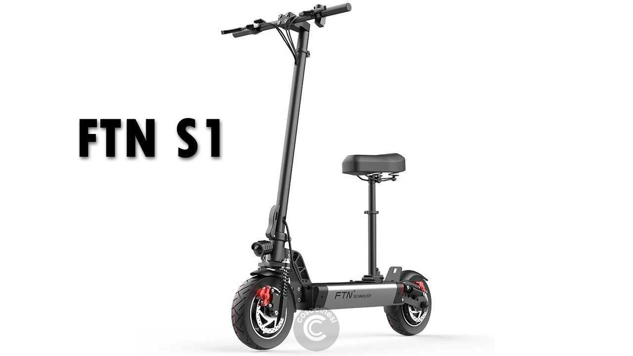 Codice sconto coupon  FTN S1 Folding Electric Scooter [8AH]