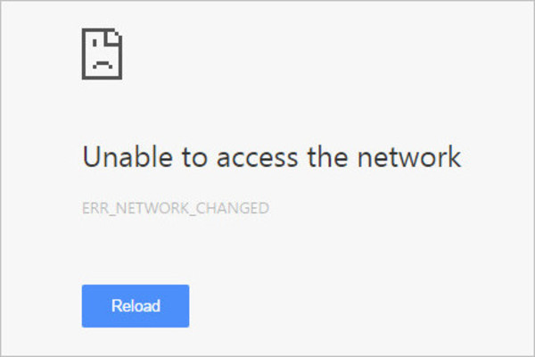 How to Fix Err Network Changed