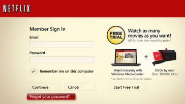 Netflix Login Account Online