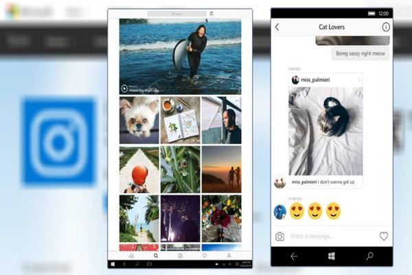 instagram chat box