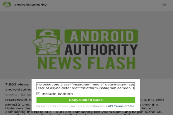 andorid authority news flash