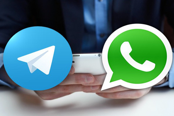 whatsapp or telegram