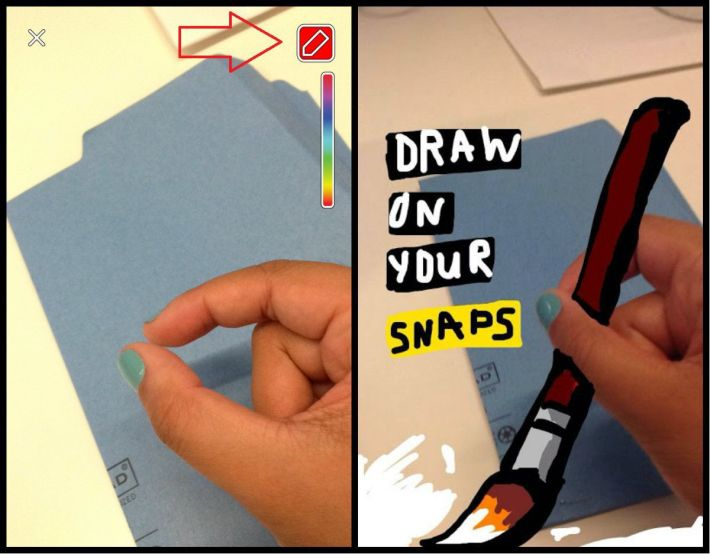 draw on your snaps