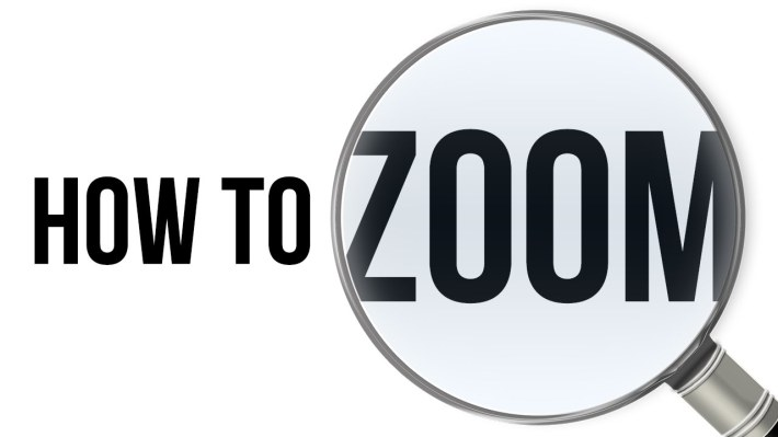 how to zoom