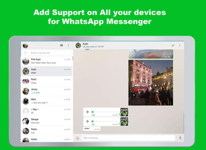 Get Whatsapp on your iPad without iPhone! - COSECT net