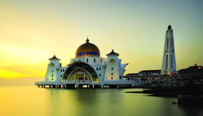 Malacca la moschea