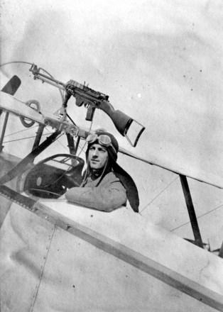 A bordo del Nieuport Bèbè
