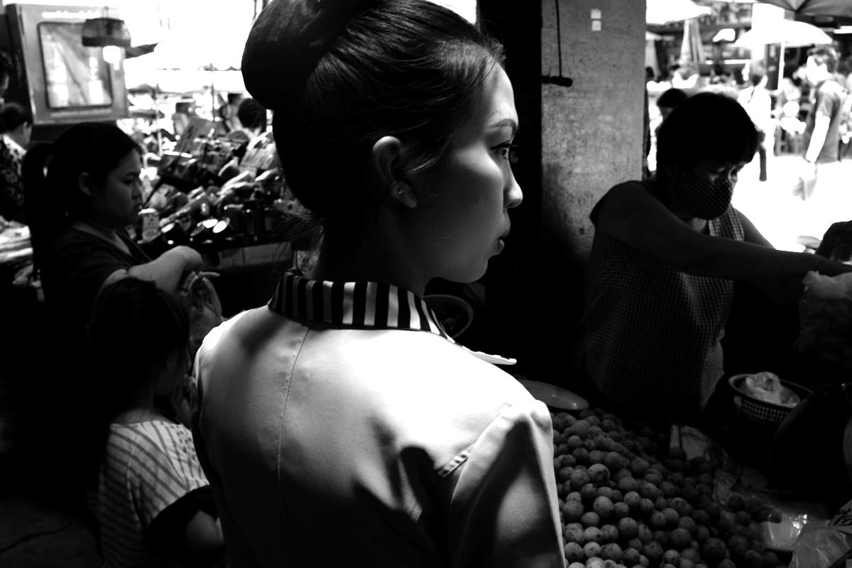 Profilo di ragazza_Aleandro Tubaldi