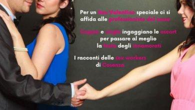 """Photo of A Cosenza per San Valentino molte coppie """"regalano"""" una escort"""