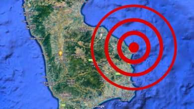 Photo of Trema ancora la terra nello jonio. Nuova scossa di magnitudo 3.2 a Cirò Marina