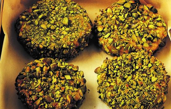 Polpette di zucca in crosta di pistacchio