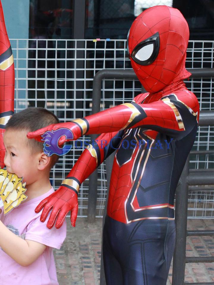 2018 Amazing Spiderman Kids Halloween Costumes