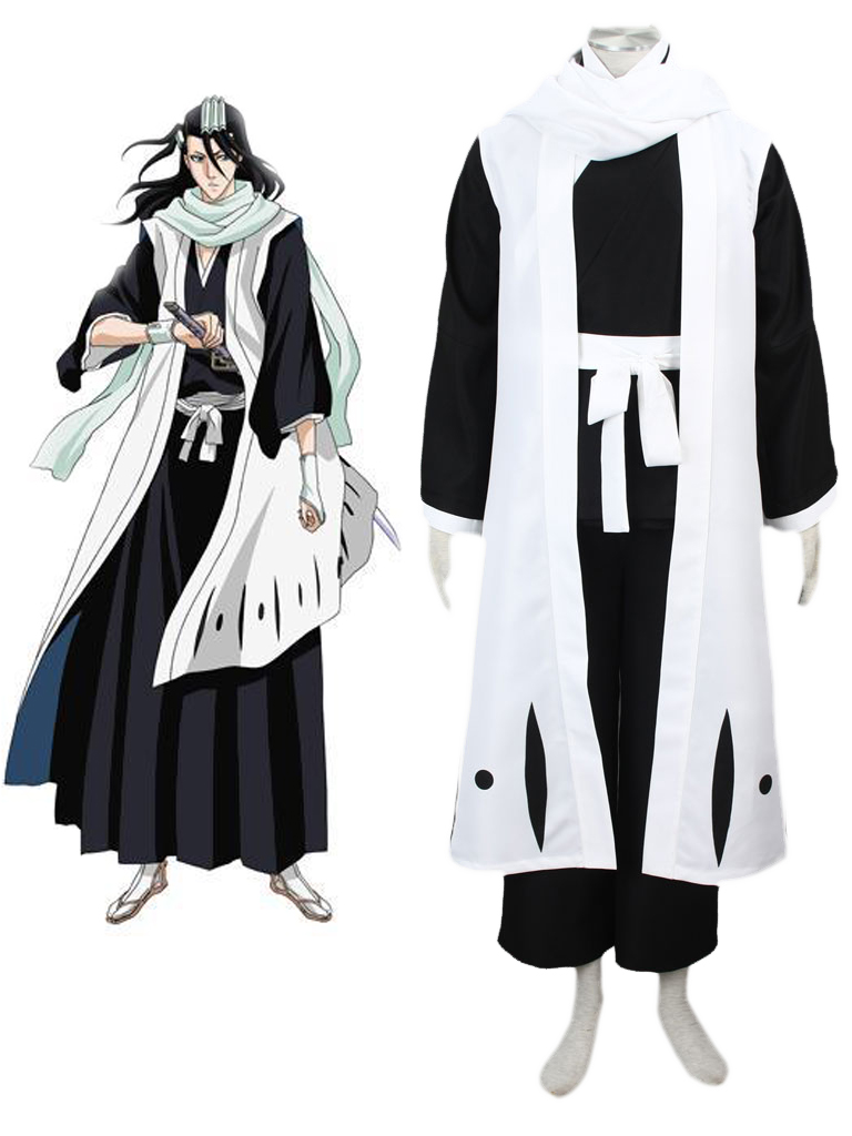 bleach gotei thirteen byakuya kuchiki captain of the 6th division
