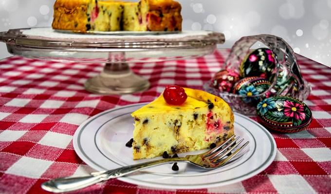 Torta di Ricotta delle Feste – Italian Holiday Cheesecake
