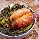 Italian Sausage with Broccoli Rabe – Salsicce con Rapini