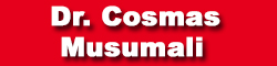 Dr. Cosmas Musumali -The Official Site