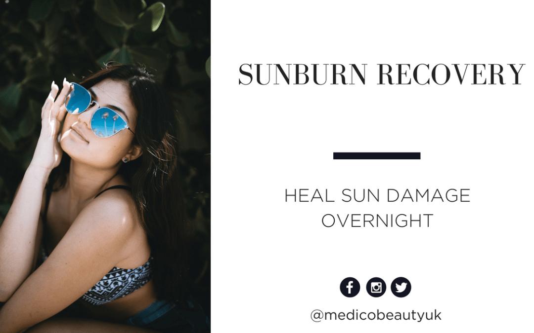 Sunburn Recovery: Heal Sun Damage Overnight