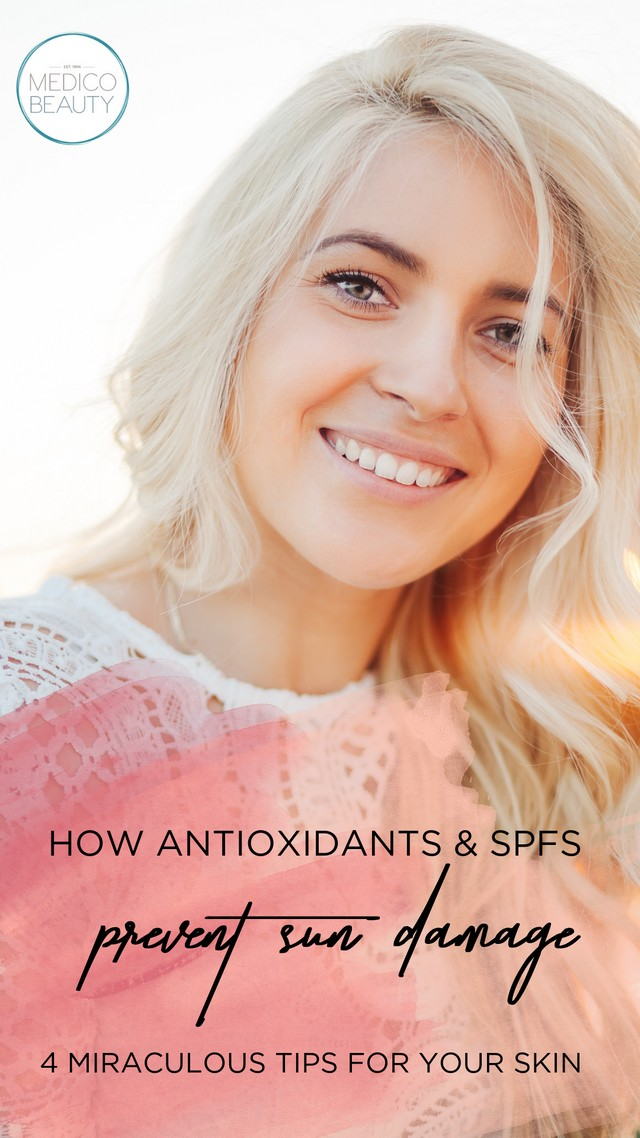 antioxidants sun damage