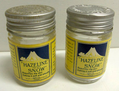 Hazeline Snow early packaging
