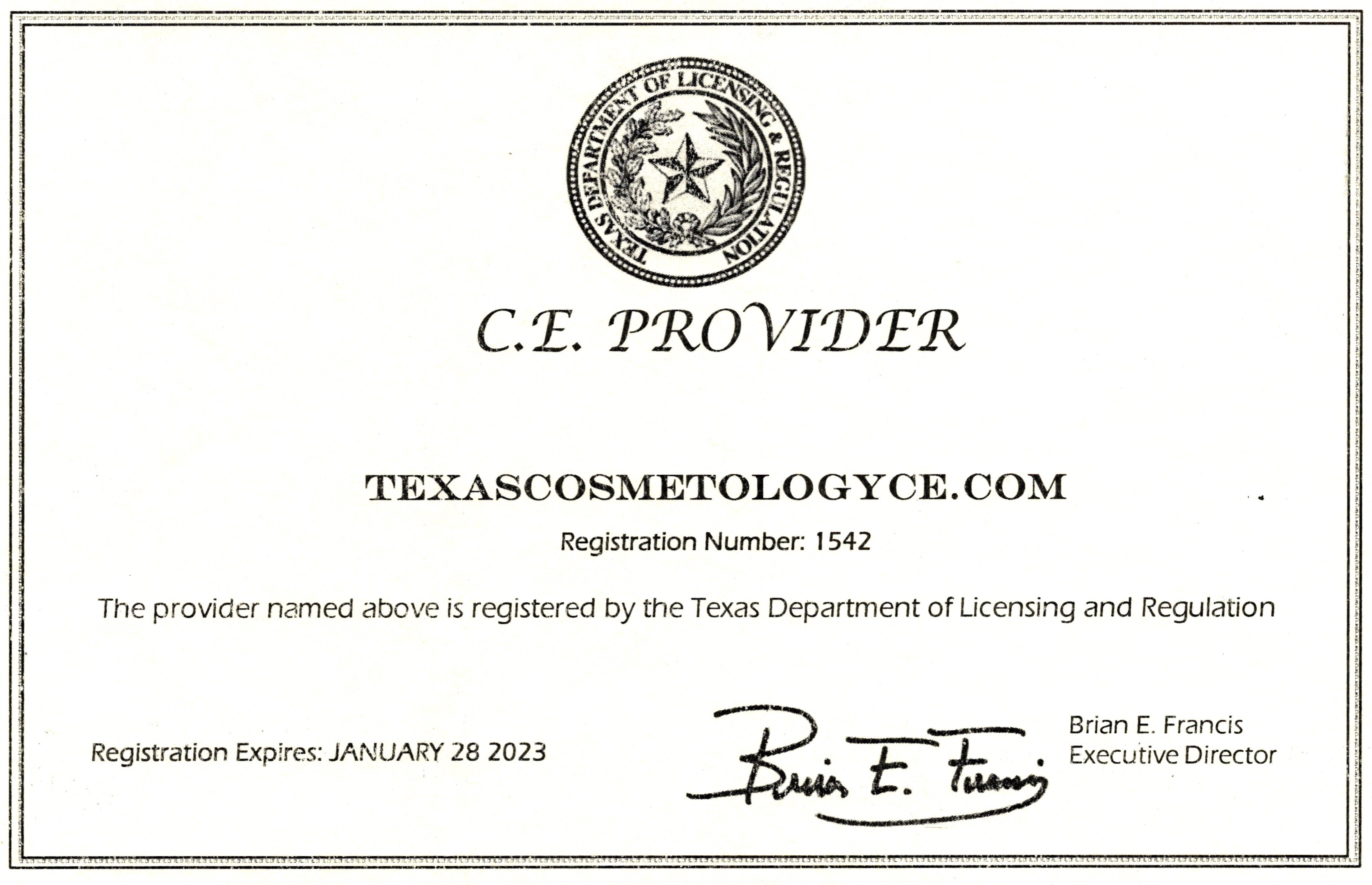 Your Texas Cosmetology License Renewal Education Can Be Pleted Today Approved Course Provider 1542 View Approval