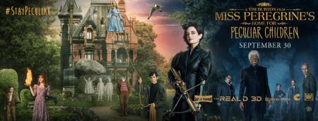 Miss Peregrine banner