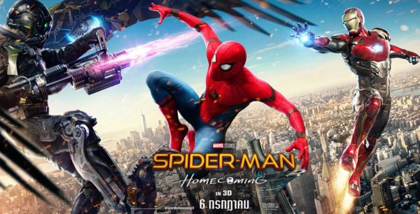 De Spider-Man Homecoming personages Vulture, Iron-man & Spider-Man zelf