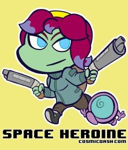 spaceheroine_shirt_design