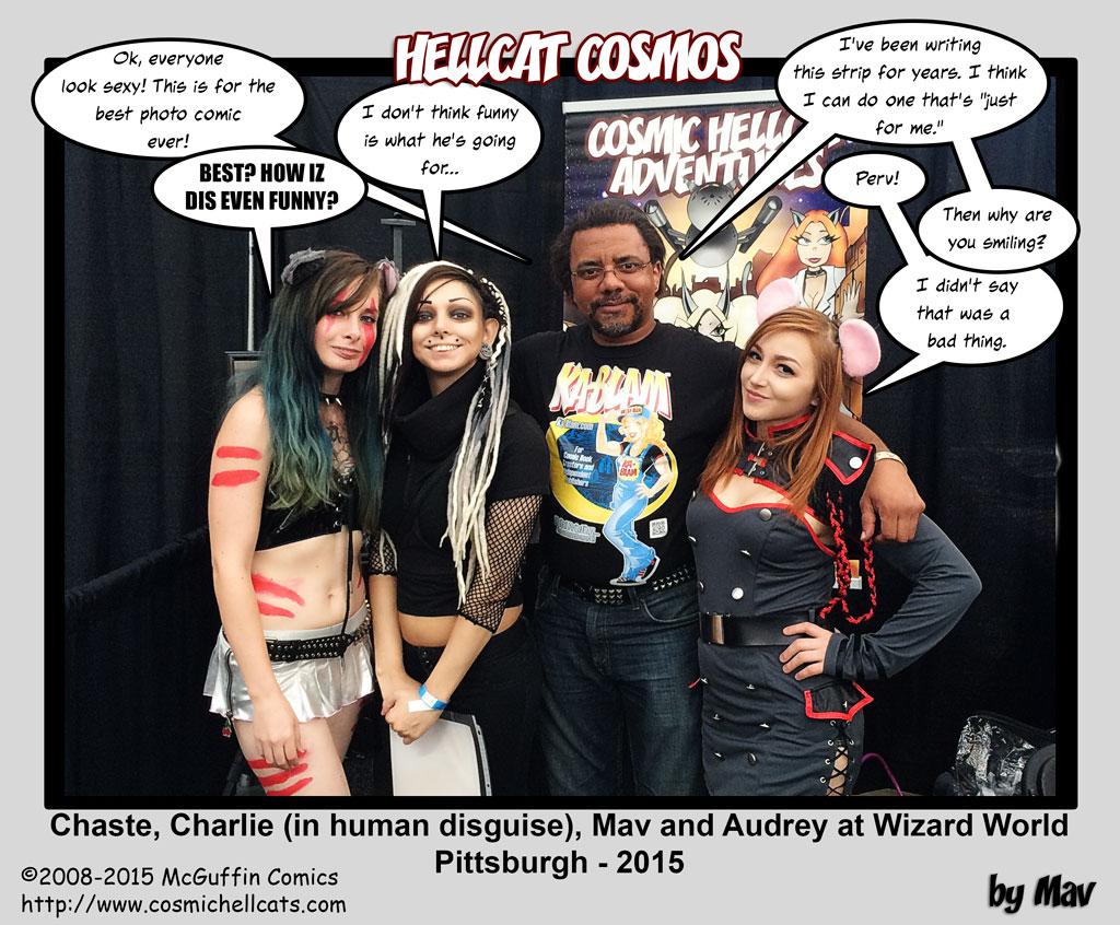 Hellcats Invade Wizard World Pittsburgh