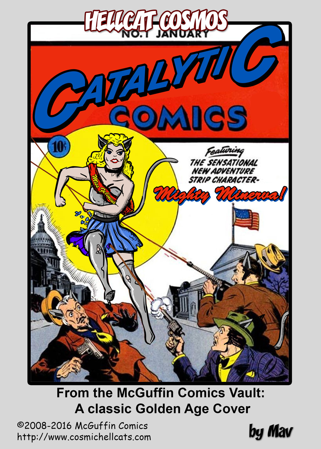 From the McGuffin Comics Vault: 1941