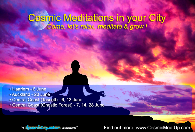 "Quantum Science of Sharing: Meditation Evenings ""Silent Immersion with Shunya Bindu"" in Auckland, Northern Beaches, Haarlem & Central Coast – June 2017"