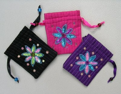 Sequined Gift Bags