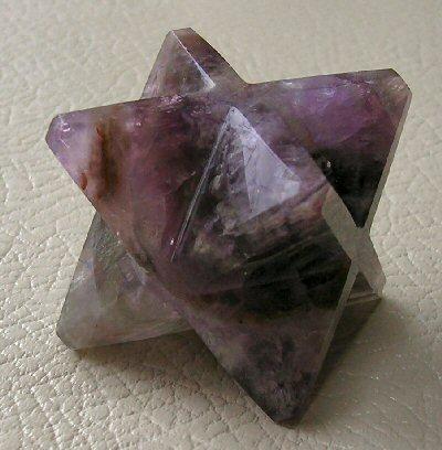 Fluorite Merkabah Star