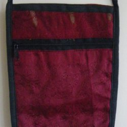 Sari Passport Bags Burgundy
