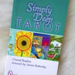 simply deep tarot booklet